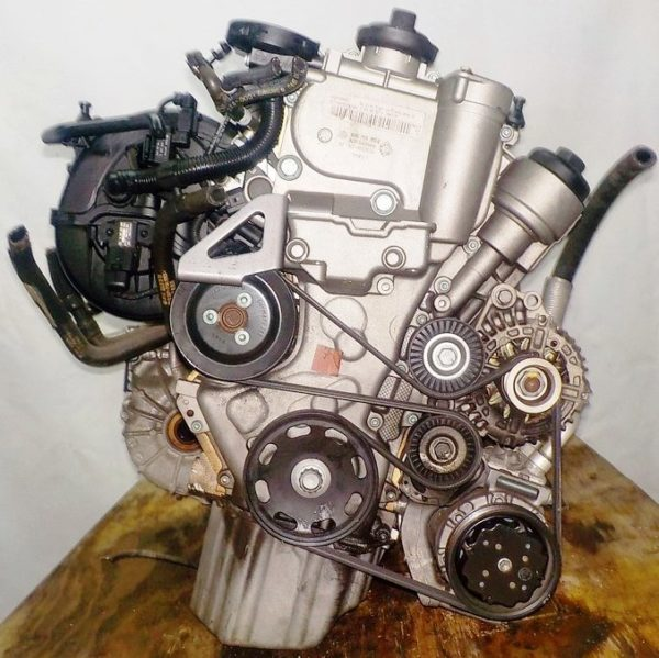 Двигатель Volkswagen BAG - 082027 AT FF Touran 59 000 km 3