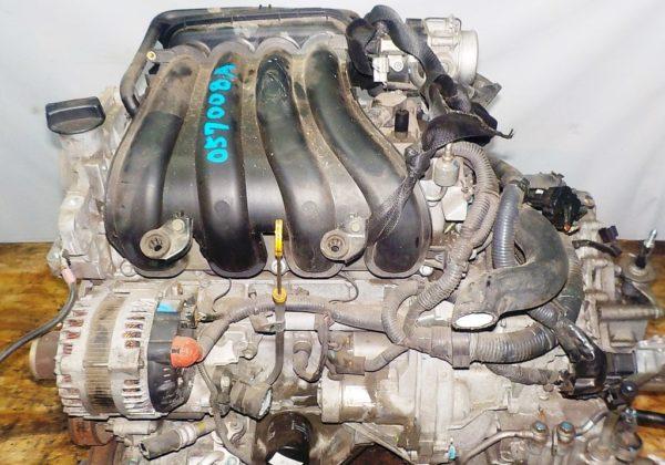 Двигатель Nissan MR18-DE - 057008A CVT RE0F08A FF коса+комп 2