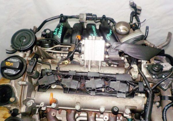 Двигатель Volkswagen BAG - 082027 AT FF Touran 59 000 km 2