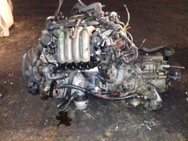 Двигатель Volkswagen AZM - 097352 AT FF Passat 119 000 km коса+комп 1