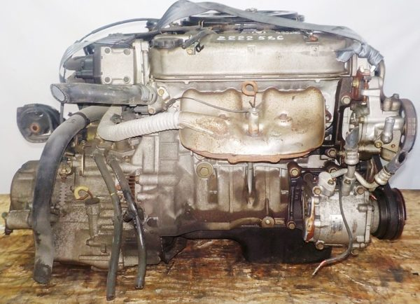 Двигатель Honda D13B - 2222586 AT S48A FF carburator 1