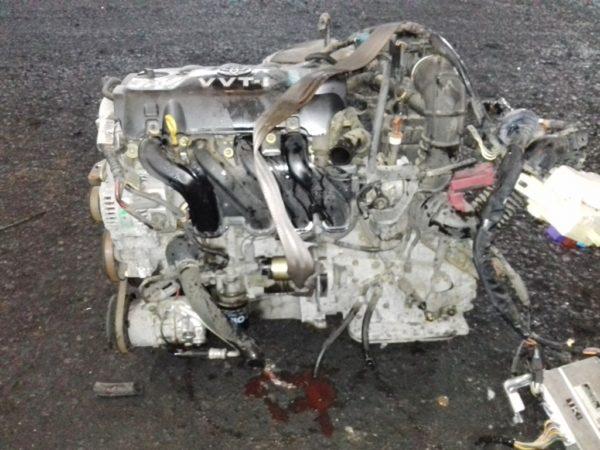 Двигатель Toyota 2NZ-FE - 2595918 AT U441E FF NCP60 коса+комп 4