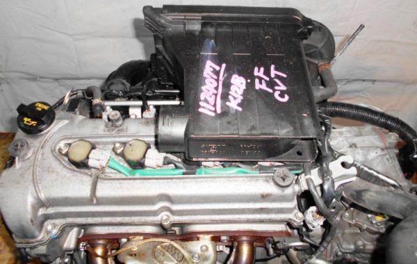 Двигатель Suzuki K12B - 1124077 CVT FF ZC71S коса+комп 4