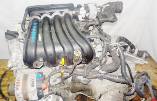 Двигатель Nissan MR18-DE - 042662A CVT RE0F08A FF коса+комп 2
