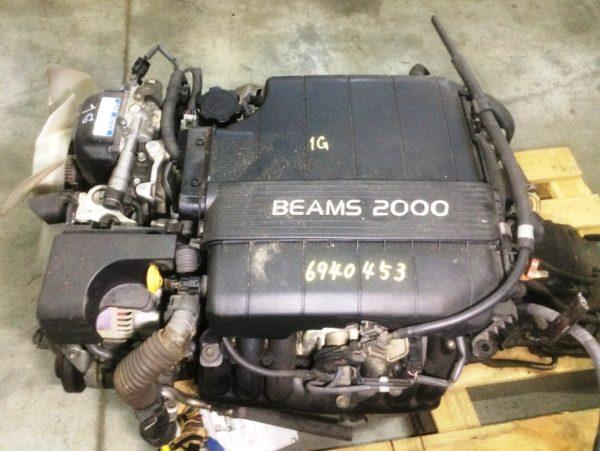 Двигатель Toyota 1G-FE - 6940453 AT 03-70LS 35000-2C400 FR BEAMS коса+комп 2