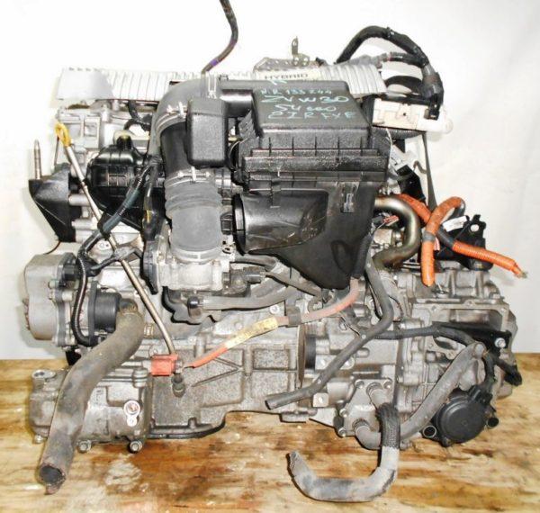 Двигатель Toyota 2ZR-FXE - R133244 AT FF ZVW30 54 000 km коса+комп 1