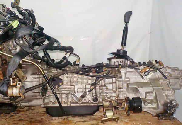 Двигатель Mitsubishi 6G72 - QT0861 AT FR 4WD Delica катушка коса+комп 3