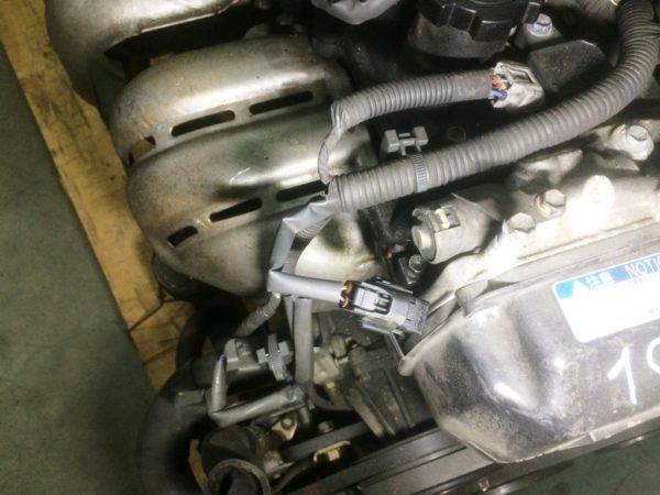 Двигатель Toyota 1G-FE - 6940453 AT 03-70LS 35000-2C400 FR BEAMS коса+комп 4