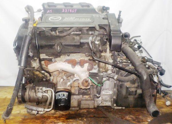 Двигатель Mazda AJ - 331869 AT FF LWFW коса+комп 1