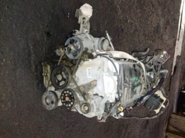 Двигатель Toyota 1NZ-FE - B402696 AT U340F FF 4WD NCP65 механический дроссель коса+комп 3