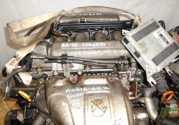Двигатель Toyota 3S-GE - 2266574 AT A241E-622 FF SW20 коса+комп 2