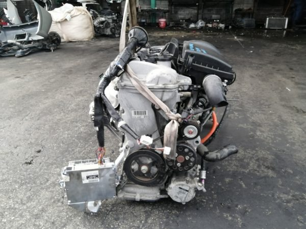 Двигатель Toyota 1NZ-FXE - 3639768 AT P112-01A FF NHW20 коса+комп 3