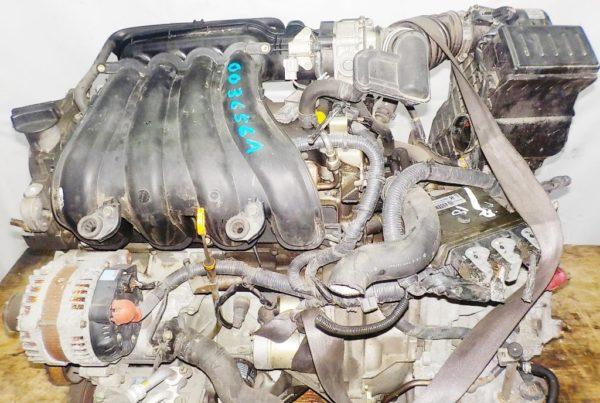 Двигатель Nissan MR18-DE - 003656A CVT RE0F08A FF коса+комп 2