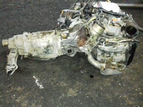Двигатель Subaru EJ20 - B086888 AT TV1B4YBCAB FR 4WD BH5 EJ206DXCBE 80 000 km 3