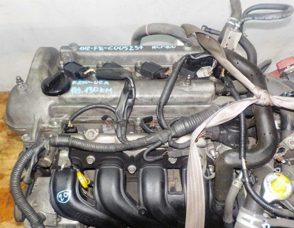 Двигатель Toyota 1NZ-FE - C005237 CVT K210-02A FF NCP100 143 130 km электро дросель коса+комп 2