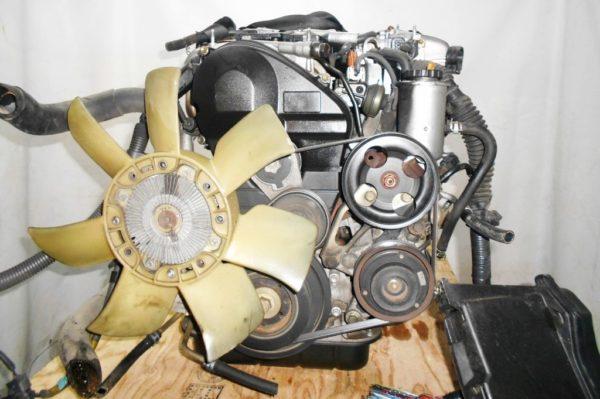 Двигатель Toyota 2JZ-FSE - 0753420 AT 35-50LS A650E-A02A FR JZS177 119 000 km коса+комп, нет выпускного коллектора 4