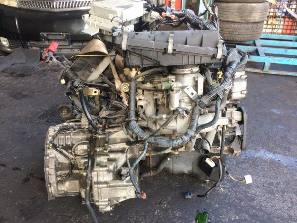Двигатель Nissan CG10-DE - 386045B AT RE4F03B FQ40 FF K11 70 500 km коса+комп 4