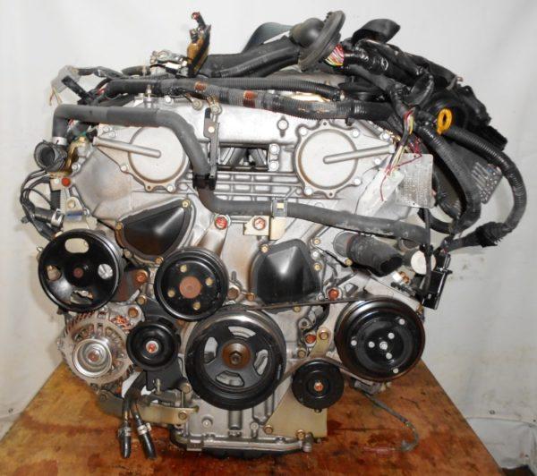 Двигатель Nissan VQ25-DE - 312559A AT RE5R05A FR Y50 149 000 km коса+комп 3