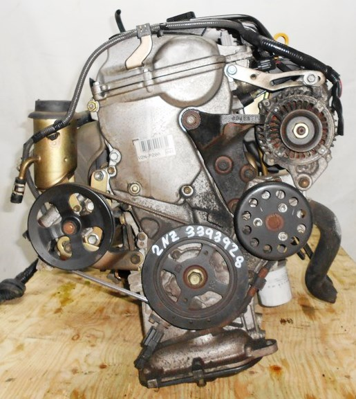 Двигатель Toyota 2NZ-FE - 3393928 AT U441E-03A FF NNP11 128 000 km коса+комп без датчика скорости 5