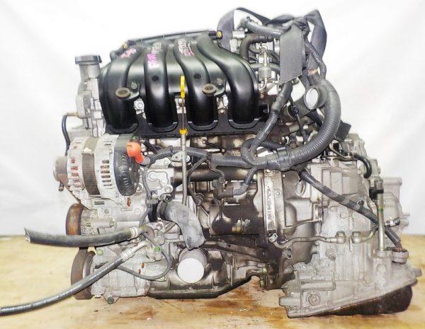 Двигатель Nissan MR18-DE - 057929A CVT RE0F08A FF коса+комп 1