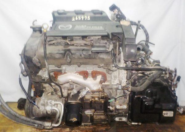 Двигатель Mazda AJ - 265975 AT FF LWFW 147 150 km 02′ коса+комп 1