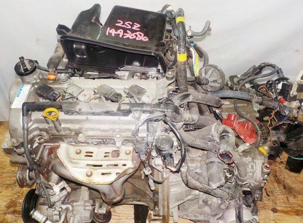 Двигатель Toyota 2SZ-FE - 1493680 CVT K410 FF коса+комп 2
