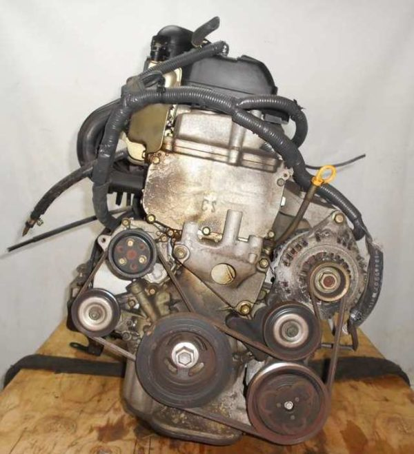 Двигатель Nissan CR14-DE - 035884A AT RE4F03B FQ40 FF BZ11 96 000 km коса+комп 3