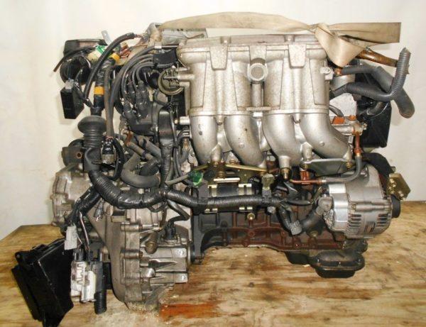 Двигатель Toyota 3S-GE - 2266574 AT A241E-622 FF SW20 коса+комп 4