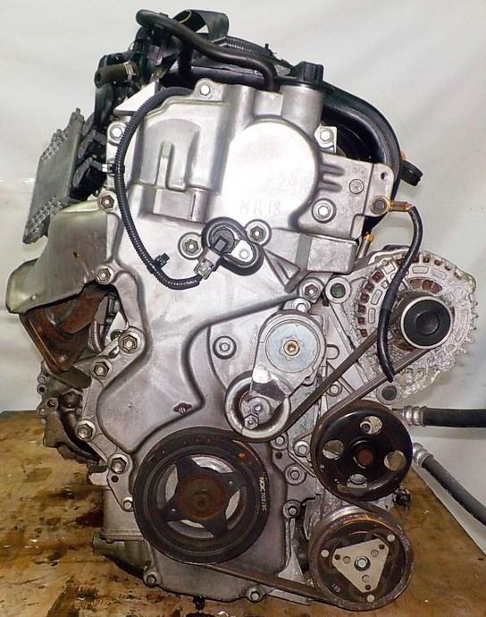 Двигатель Nissan MR18-DE - 057929A CVT RE0F08A FF коса+комп 3