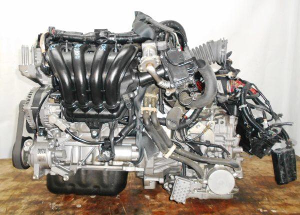 Двигатель Mazda P3-VE - 30202104 CVT FF DEJFS 86 000 km коса+комп 1