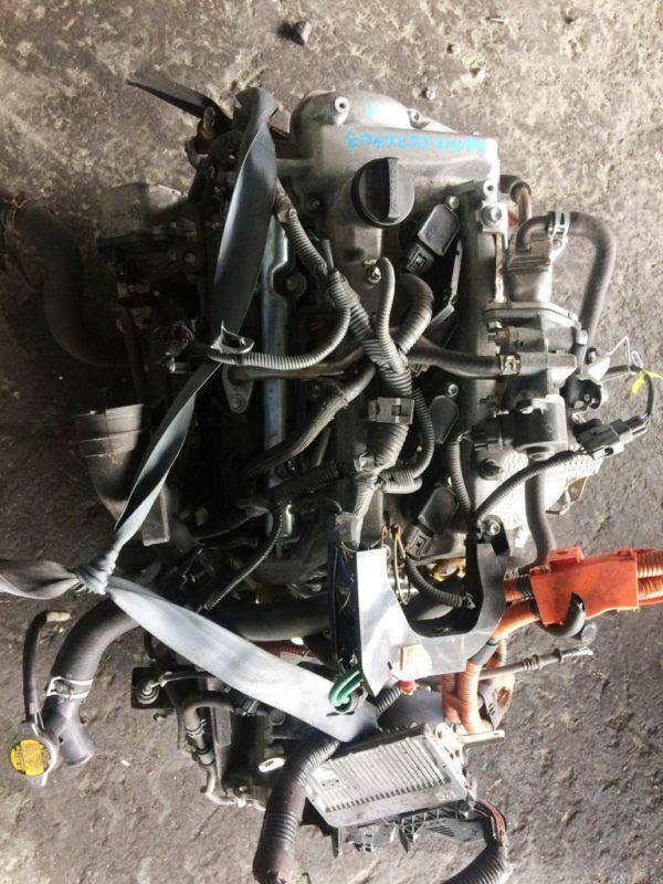 Двигатель Toyota 1NZ-FXE - 6676403 AT P510-01A FF NHP10 коса+комп 2