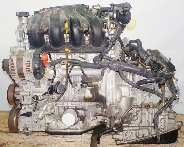 Двигатель Nissan MR18-DE - 007526A CVT RE0F08A FF коса+комп 1