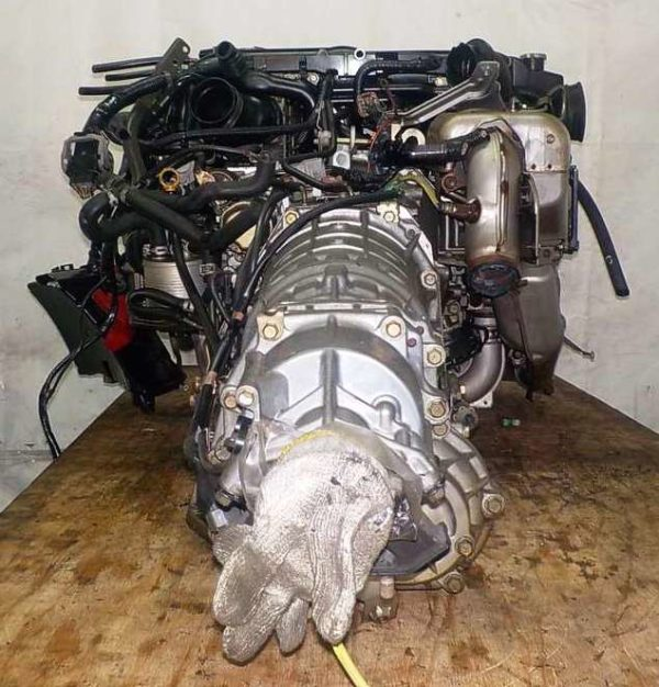 Двигатель Subaru EJ20-T - B871653 AT TG5C7CBABA-Y5 FR 4WD EJ20X BP5 комп 8