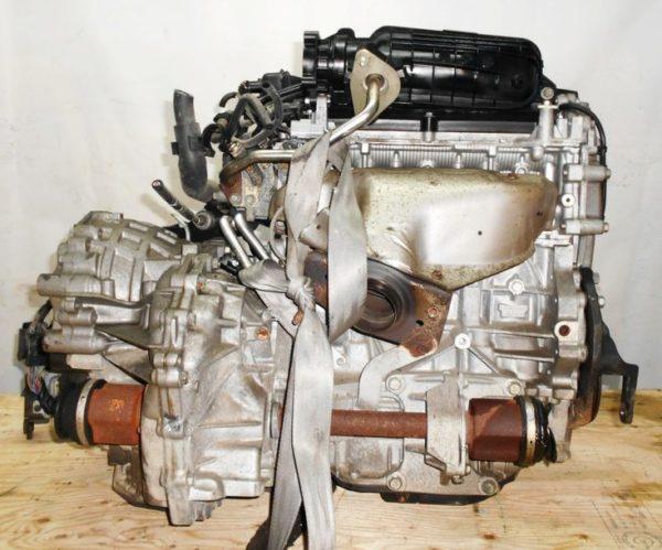 Двигатель Nissan MR20-DE - 082051B CVT RE0F10A FF C25 129 000 km коса+комп 4