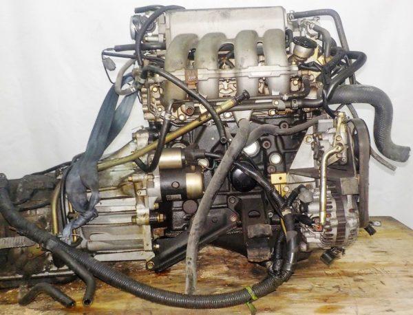 Двигатель Mazda FE - 989417 AT FR SGEW 159 000 km коса+комп 7