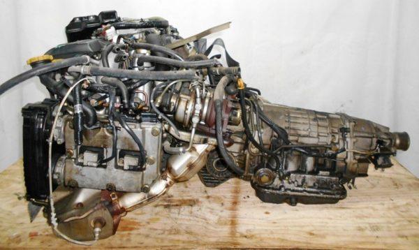 Двигатель Subaru EJ20-TT - B150261 AT TV1B4YВCAB FF 4WD BH5 EJ206DXCBE 101 000 km 00′ комп 1