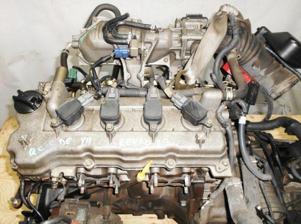 Двигатель Nissan QG15-DE - 29918B AT RE4F03B FQ38 FF Y11 электро дроссель коса+комп 2
