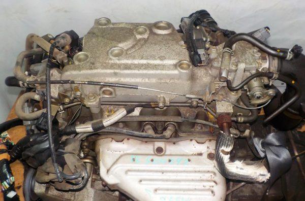 Двигатель Mazda FE - 504242 AT FR SGEW коса+комп 2