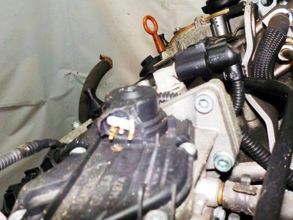 Двигатель Volkswagen BLF - 153563 AT FF коса+комп 8