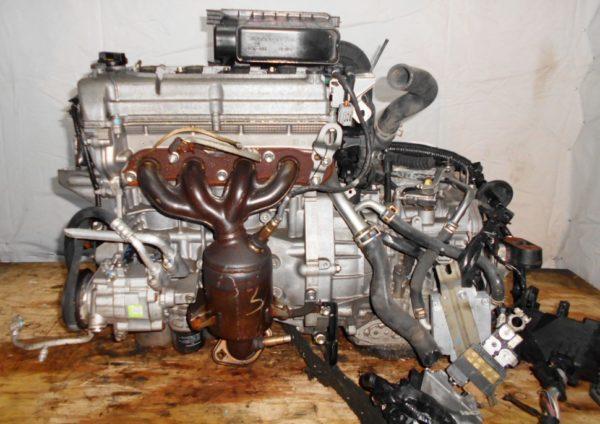 Двигатель Suzuki K12B - 1124077 CVT FF ZC71S коса+комп 5