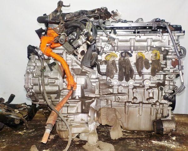 Двигатель Toyota 2ZR-FXE - 6637141 CVT P610-01A FF ZVW50 15′ коса+комп 6