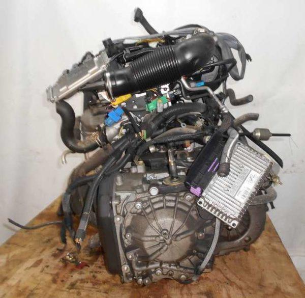 Двигатель Peugeot PSA - 02535550 206 AT FF 10FX7E 98 000 km коса+комп 5