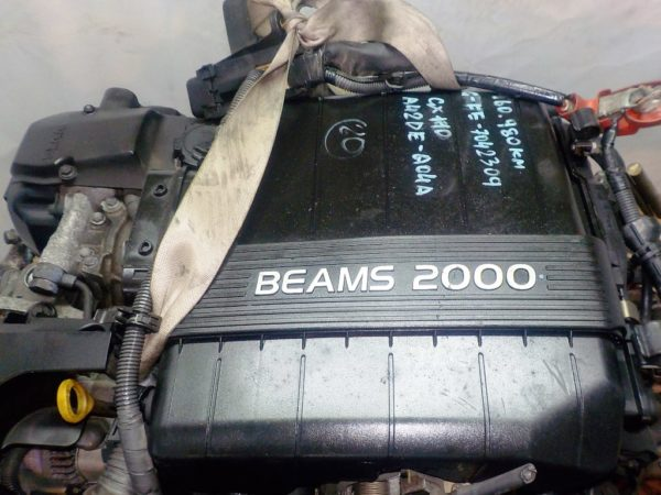 Двигатель Toyota 1G-FE - 7042309 AT 03-70LS A42DE-A04A FR GX110 BEAMS 160 980 km коса+комп 2