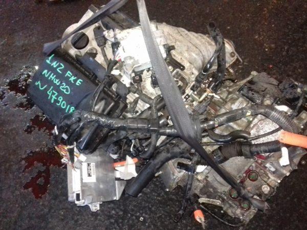 Двигатель Toyota 1NZ-FXE - 4790185 AT FF NHW20 84 000 km коса+комп 2