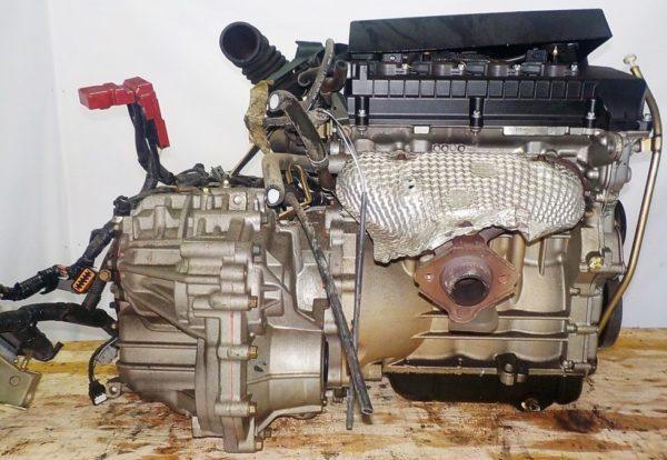 Двигатель Mitsubishi 4A90 - 0017410 CVT F1C1A FF Z21A 79 000 km коса+комп 5