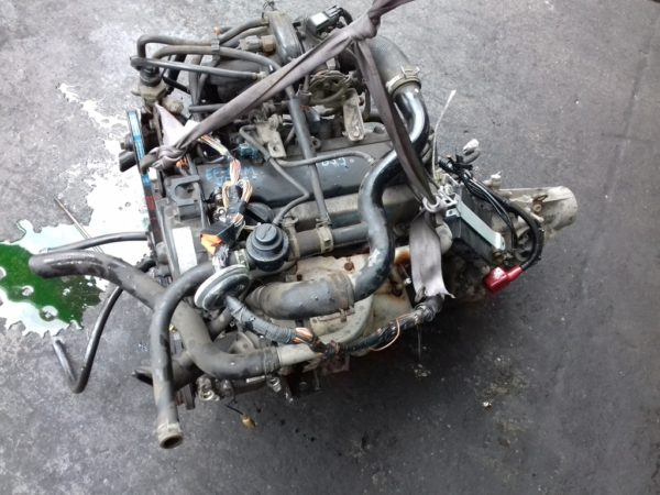 Двигатель Daihatsu EF-DEM - 6678365 AT YBS5 FR J131G 139 000 km коса+комп 2