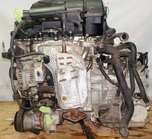 Двигатель Toyota 1KR-FE - 0997090 CVT K410-04A FF KSP90 коса+комп 1