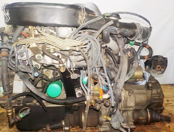 Двигатель Honda D13B - 2222586 AT S48A FF carburator 5