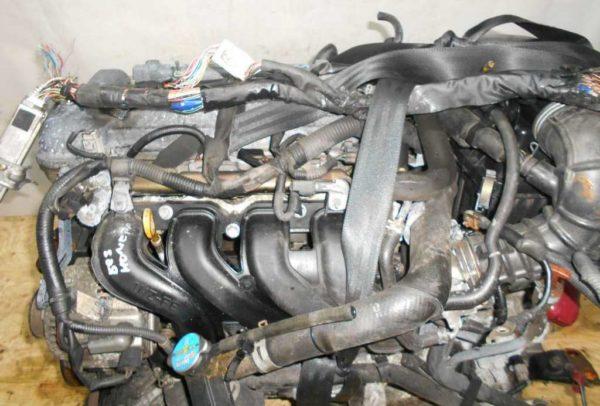 Двигатель Toyota 1NZ-FE - БЕЗ НОМЕРА CVT K210-02A FF NCP81 154 000 km электро дроссель коса+комп 2