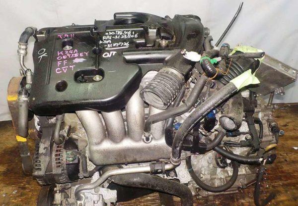 Двигатель Honda K24A - 5127726 AT MFHA FF Odyssey коса+комп 2
